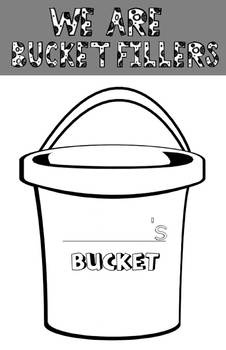 Drops in a bucket poster