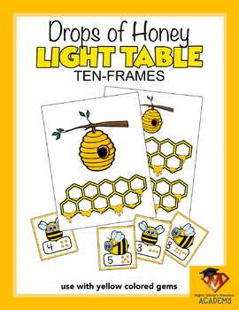 Drops of Honey LIGHT TABLE Ten-Frames