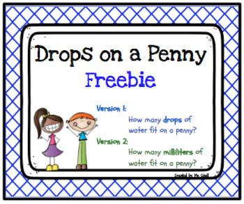 Drops on a Penny FREEBIE