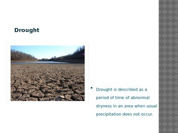Drought and Tucson Arizona