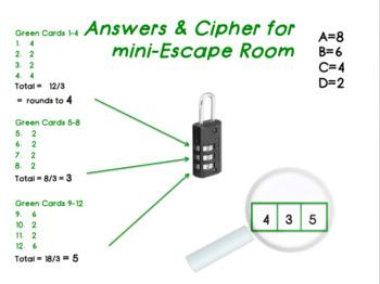 Drug Abuse Mini Escape Room