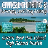 Drug Activity - Governing Drug Laws - Fully Editable in Mi