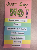 Drug/Alcohol/Smoking Prevention Booklet & Lesson