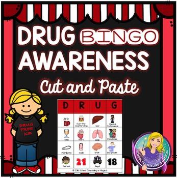 Drug Awareness Bingo Cut and Paste