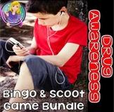 Drug Awareness Bingo & Scoot Game Bundle