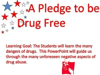 Drug Awareness and Education / Red Ribbon Week.