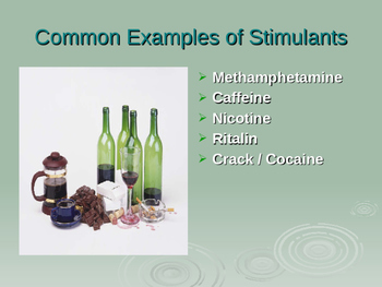 Drug Classifications Powerpoint