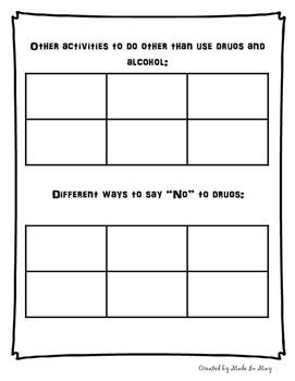 Drug-Free Activities or Red Ribbon Week Activities