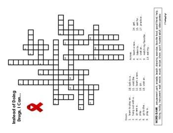 Drug Free Pledge Bookmark for Red Ribbon Week {Updated}