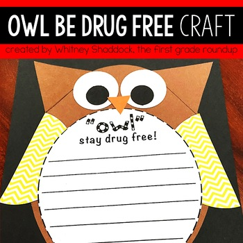 Drug Free Week Craft