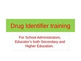 Drug Identifier Training