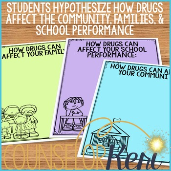 Drug Prevention Classroom Guidance Lesson (Upper Elementary)