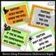 Drug Prevention Halloween Door Decor Kit for Red Ribbon Week