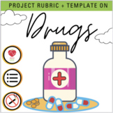 Drug Project & Rubric- Health Class- Vaping, E-Cigs, Heroi