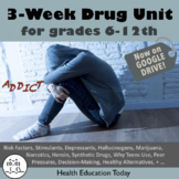 Drug Lessons: Get 15 Drug Lesson Plans in this BEST SELLING Drug Unit