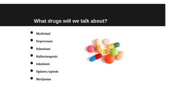 Drug Unit Powerpoints