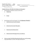 Drug Unit Study Guide