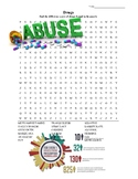 Drugs WordSearch w/key