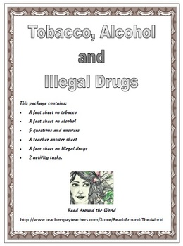Drugs, Alcohol and Tobacco Abuse
