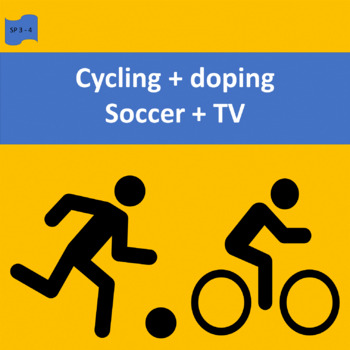 Sports in Spain: Cycling + doping (1), Soccer + TV (2)  SP Intermediate 1