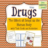 Drugs and their Effects on the Human Body, Interactive Notebook with Task Cards