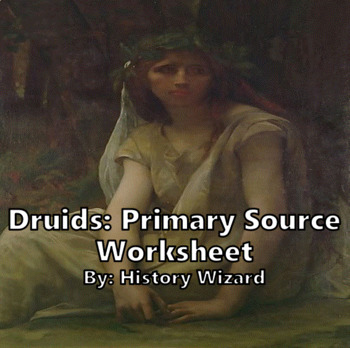 Druids: Primary Source Worksheet (Julius Caesar)