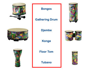 "Drum Circle Chant | ""Drumming is the Best"" | Complete Poem Package"