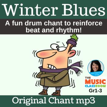 "Drum Circle Chant | ""Winter Blues"" | Poem mp3"