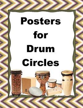 Drum Circle Posters