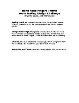 Drum Creation Design Brief