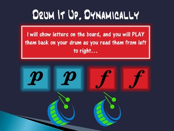 Drum it up, Dynamically!