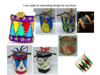 Drum ornament