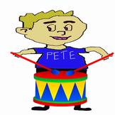Drummer Pete Plays Rhythm
