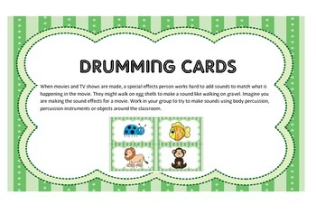 Drumming Cards