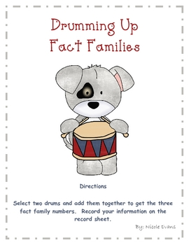 Drumming Up Fact Families