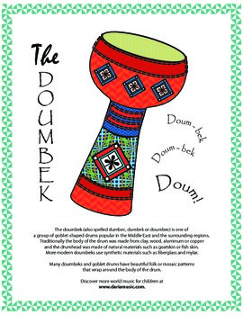 Drums From The Middle East –The Darbouka and the Doumbek!