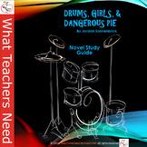 Drums, Girls, and Dangerous Pie Novel Study Guide / Literature Unit