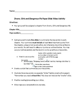 Book Review In Different Key Story Of >> Drums Girls And Dangerous Pie Book Review By Pa Peters Tpt