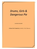 Drums, Girls, and Dangerous Pie Novel Unit Plus Grammar