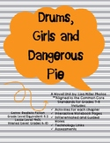 Drums, Girls, and Dangerous Pie Novel Unit with Differenti