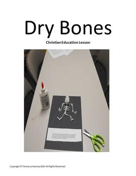 Ezekiel Dry Bones Autumn Christian Education Lesson Plan and Craft