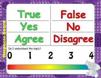 Answer Boards and Tags for Cooperative Learning Groups