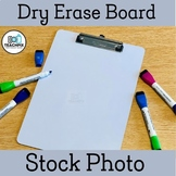 Dry Erase Board Stock Photo