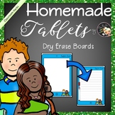 Dry Erase Boards - Freebie