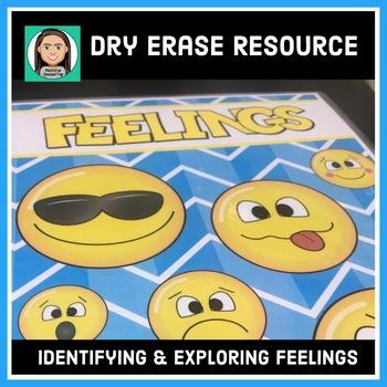 Dry Erase Book: Identifying & Exploring Feelings