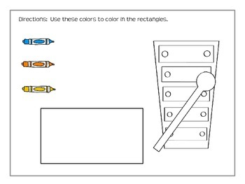 Dry Erase Coloring Pages (Shapes)