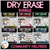 Dry Erase Community Helper Workbook: Bundle