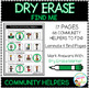Dry Erase Community Helper Workbook: Find Me