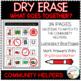 Dry Erase Community Helper Workbook: What Goes Together?