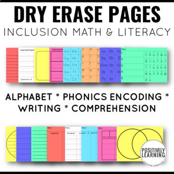 Dry Erase Printables